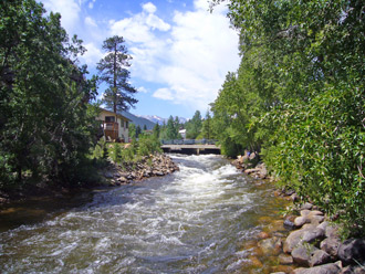 River Running in Estes Park, Colorado